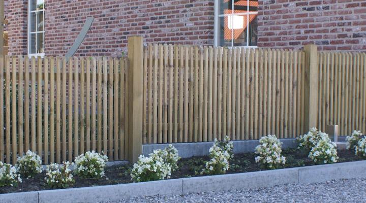 De soete afsluitingen for Moderne afsluiting tuin